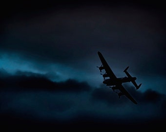 Lancaster Bomber! Unique 10x7 print of this iconic World War II aircraft