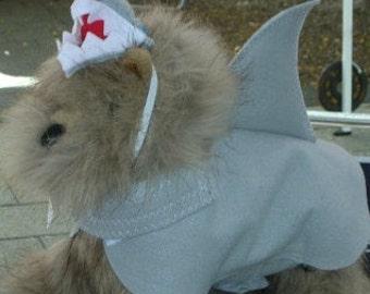 Shark Doggie Halloweeen Costume, Dog Costume