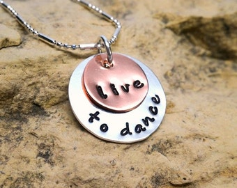 live to dance - jewelry for dancers