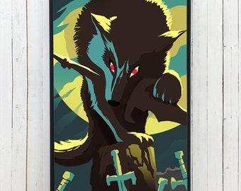 GREAT GREY WOLF Phone case for iPhone and Galaxy