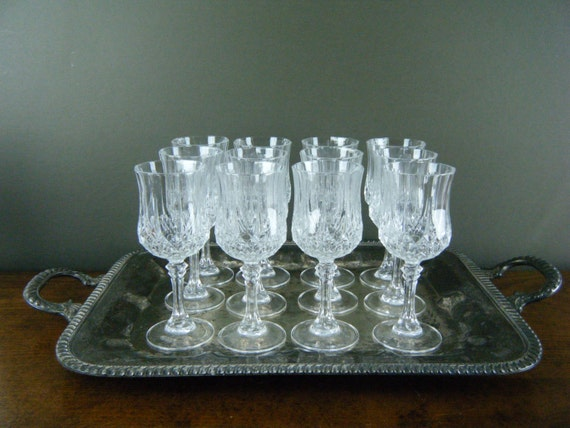 Exquisite Crystal Wine Glasses Thick Leaded By