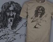 Frank Zappa Shirt - Crazy Bats - Ralph Steadman - Jazz Guitar Rock T-Shirt - FREE SHIPPING