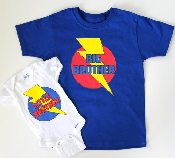 Baby Gifts For Big Brother : Items similar to new big brother and baby gift