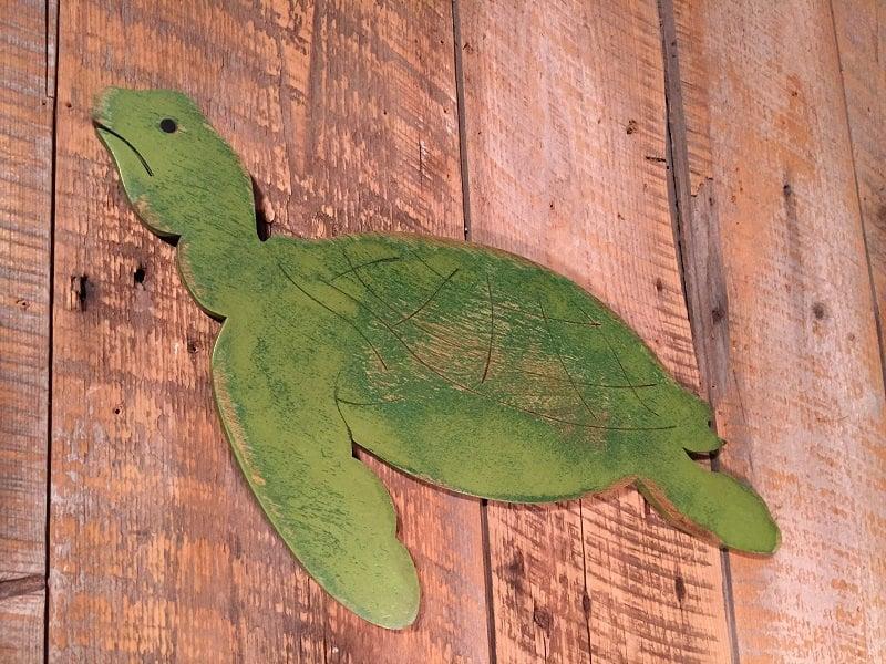 impactful wooden turtle wall art cabinet