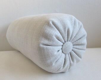 CREAM  accent lumbar throw Bolster Pillow 6x14 6x18 6x18 6x20 6x22