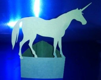 DIY Unicorn stand up number 2