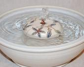 "Cat Fountain - Pet Fountain - Indoor Fountain - 10.5 Inch Diameter ""Star Flower"""