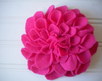 Felt Brooch in Pink