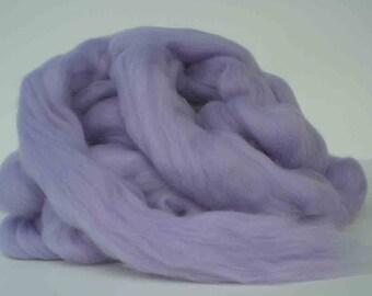 "Ashland Bay Solid Colored Merino for Spinning or Felting ""Iris""  4 oz."