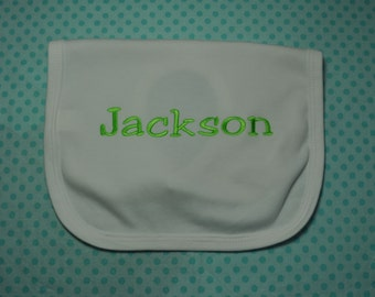 Personalized Bib ...Any Color Can be Made