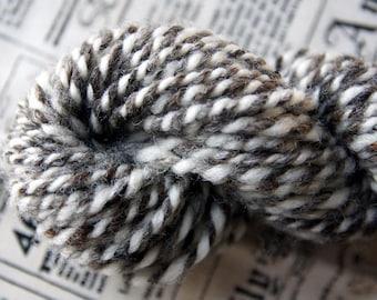 Jacob Twist 1 - Bulky Handspun Wool Yarn - 42 yds