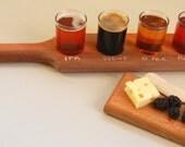beer taster paddle redwood