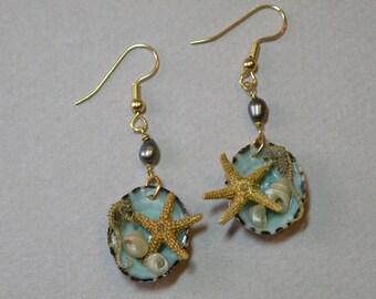 Seahorse & Starfish Earrings