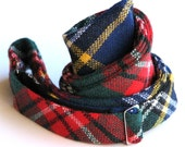 Men's Freestyle Bow Tie in MacBeth Tartan Wool