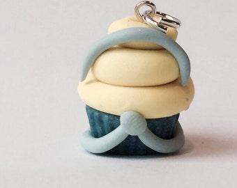 Disney Inspired Cinderella Princess Polymer Clay Cupcake Charm