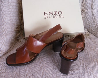 mint ENZO ANGIOLINI leather shoes