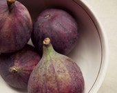 Figs Food Photography Fruit Autumn Rustic Purple Beige Kitchen Decor 8x10 Print Figs...
