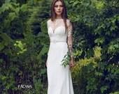 Berta inspired ivory wedding dress size 38