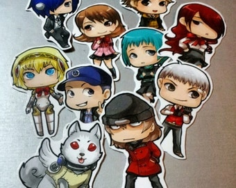 Persona 3 Sticker set of 10