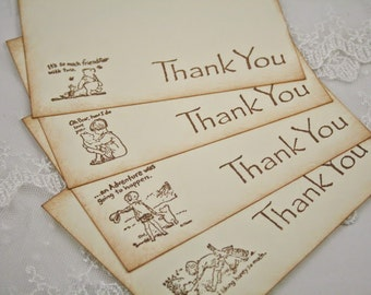 Winnie the Pooh Thank You Cards Piglet and Friends