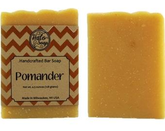 Pomander - Orange and Clove Essential Oil Bar Soap