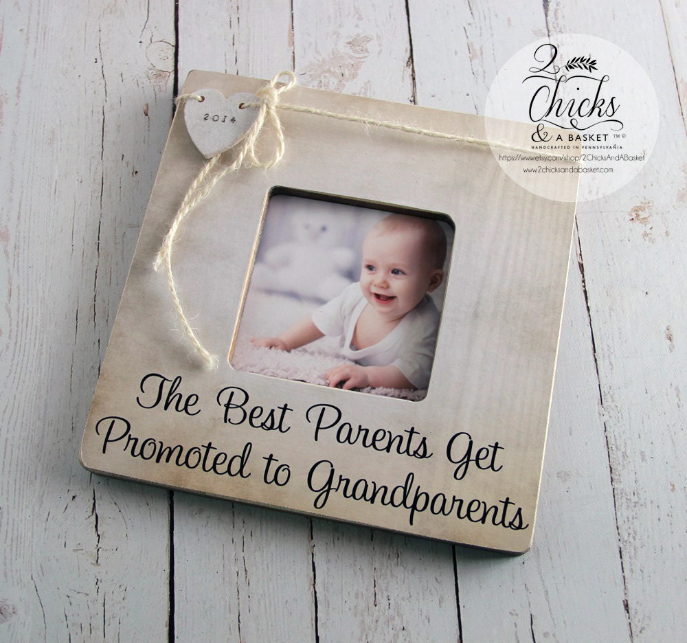 The Best Parents Get Promoted To Grandparents Personalized