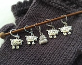 Sheep Charms Removable Stitch Markers