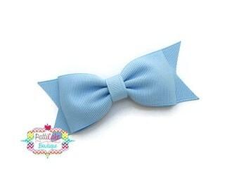 Blue Hair Bows for Girls/Baby Girl Hair Bow/Blue Bow Hair Clip/Girls Hair Bows/Baby Bows/School Girl Hair bow/Toddler Hairbow/Baby Hair Bows