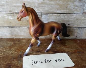 Vintage Hard Plastic Horse 1950's or 1960's
