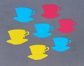 Teacup Scrapbook Cutouts