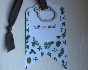 Christmas Holiday Gift or Wine Bottle Tag
