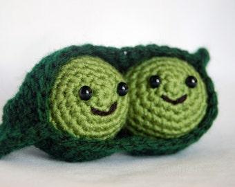 Two Peas In A Pod - Amigurumi Crochet