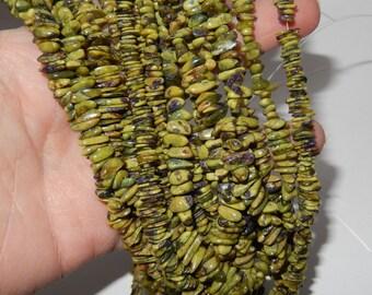 Chips Strand of Atlantasite beads