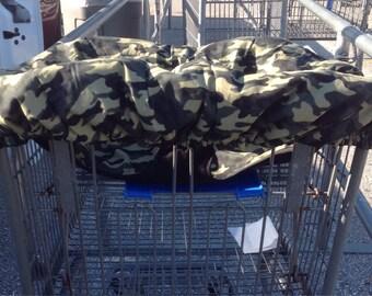 Camo Shopping Cart Cover