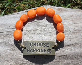 Choose Happiness Bracelet