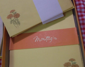 vintage montag's stationary