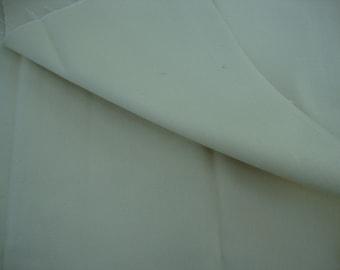 Vintage Butter Yellow Twill Fabric Yardage