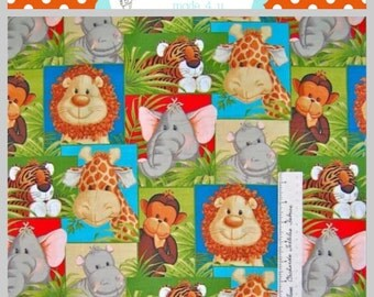jungle animals monkey elephant nurse medical scrub top doctor dental home health
