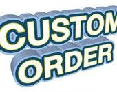 Custom order for PaperDraper