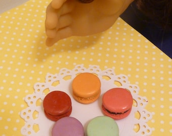 Miniature Assorted Macarons for American Girls 1:3