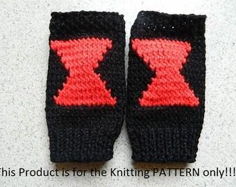Knitting Pattern: Doctor Who Tardis Fingerless Gloves by DuckyDame