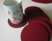 Industrial Felt Kirsche  Trivets - Special Order for AW