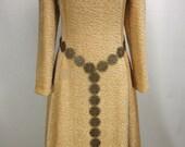 Lady Maren Girdle Belt, flower filigree antiqued brass links, Renaissance Medieval girdle belt, costume (1159ab_)