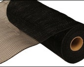10 Inch Black Deco Mesh Roll RE130202, Deco Mesh Supplies