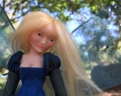 OOAK Handmade poseable polymer clay Fairy Doll