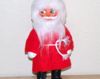 1950s to Early 1960s 10 1/2 inch Santa Claus
