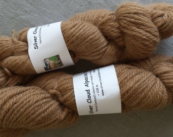 Natural Fawn Coloured Alpaca Yarn