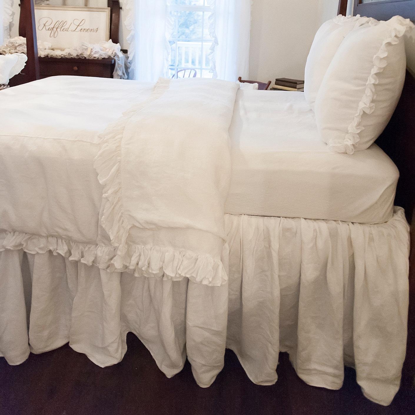 Full Size Bed Skirt 77