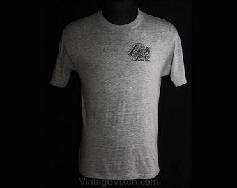 1970s New York City Men's T-Shirt - Size Small - East 46th Street Block Association - Tee Shirt - Summer - Screen-Print - Chest 38 - 34896-1