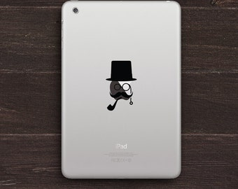 Gentleman Vinyl iPad Decal BAS-0295